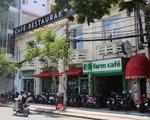 ラ・メール・ボーテ すぐ右手にある御覧の建物は高級チョコレート「マルゥ」の直営カフェ