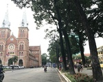 YKCウェルネス 聖母マリア教会からスタート。裏に回ります。