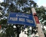 YKCウェルネス こちらは「ファムゴックタック(Pham Ngoc Thach)通り」です。看板で確かめてください。