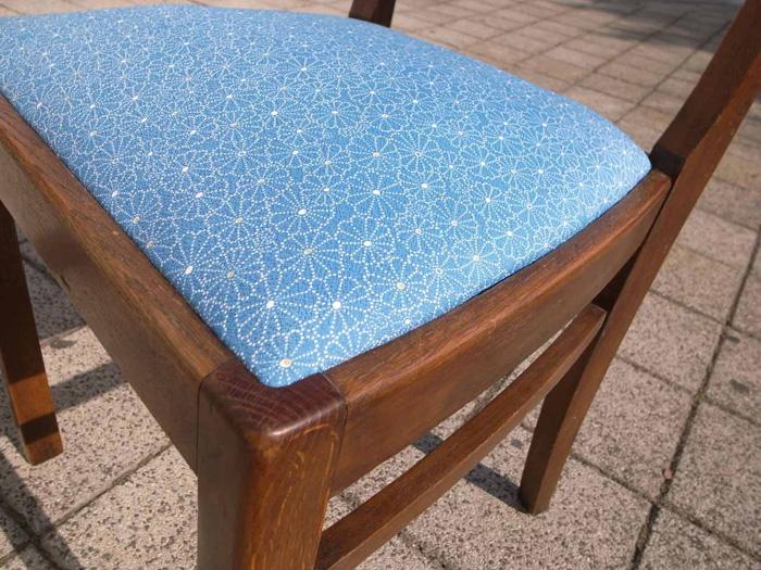 リノベーション家具 着物✕椅子 ©Das Japanische Haus e.V.