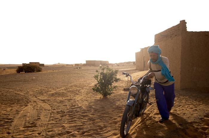 〈山羊〉 Mubarak, in Merzouga, Morocco 7/7