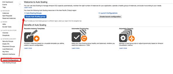 AWS AutoScalingがManagement Consoleで設定できるようになったのでちょっといじってみた