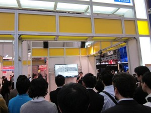 あと1日!ITPro EXPO 2011 Amazonブースのプレゼン大盛況です