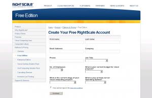 RightScaleを試してみました。