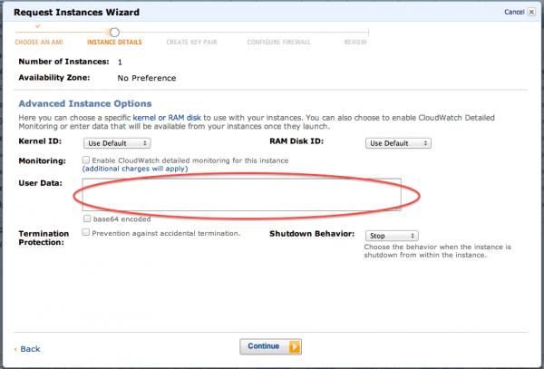 Amazon Linux起動時にCloudInitで設定するもの