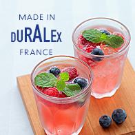 「DURALEX」のガラス食器