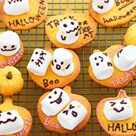 ハロウィンのお菓子とパンのレシピ