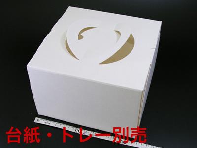 手提デコ 150 6号 E段オフ白(トレーなし)