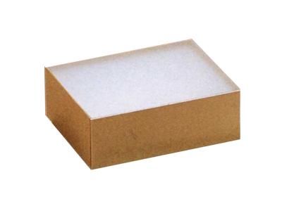 クリアスリーブケース(977/2ケ用) 1464 茶 (中)