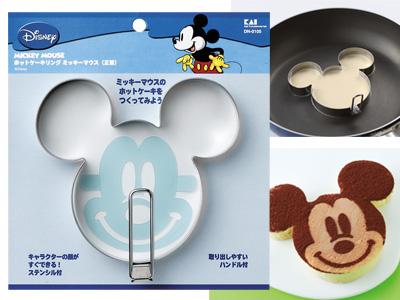 ホットケーキリング ミッキーマウス(正面)