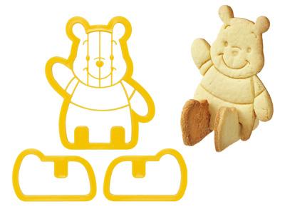 立体クッキー抜き型 Pooh
