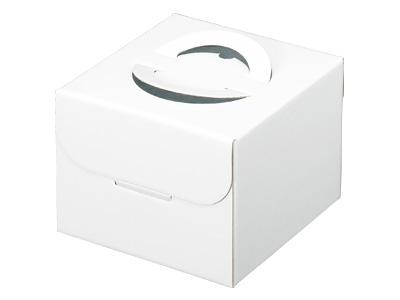 デコ箱 ホワイトH130TO 4号(トレーなし)
