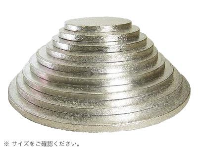 KM ケーキドラム 丸 銀 10インチ