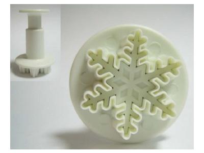KM 抜き型 雪の結晶 小