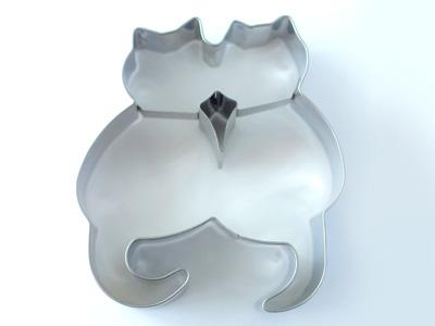 BIRKMANNクッキー型 ペア猫