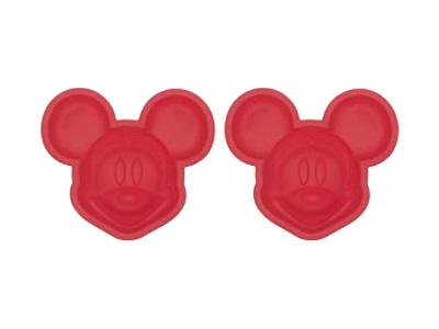ミッキーマウスシリコンケーキ型2個入