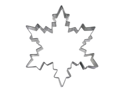 Stadter クッキー型 雪の結晶 8cm