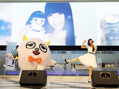 寺嶋由芙ファーストアルバム発売記念イベント開催、ゆるキャラ「こぶしまる」…