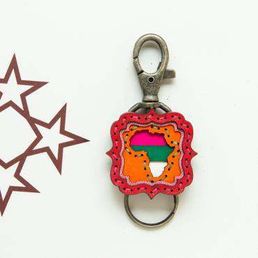 AFRICA MOSQUE KEY HOLDER