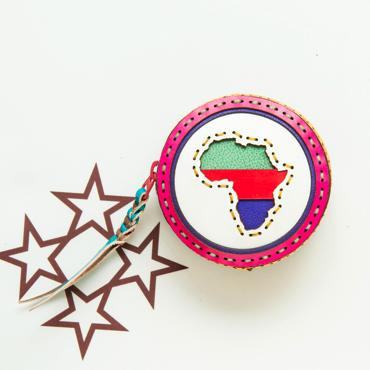 AFRICA COIN CASE