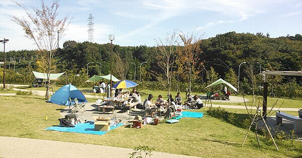 玄海田公園バーベキュー場