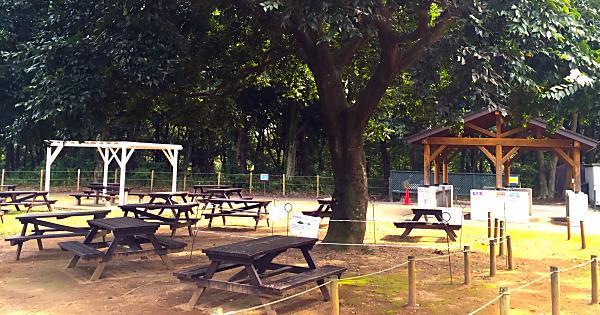 北総花の丘公園 バーベキューガーデン