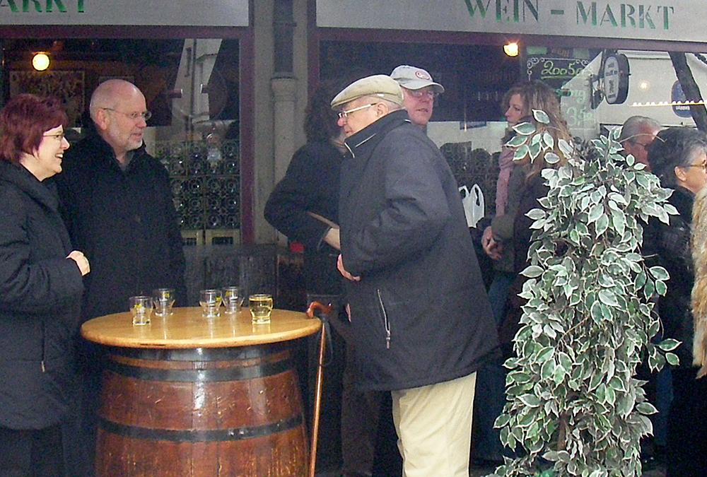 ワイン屋台