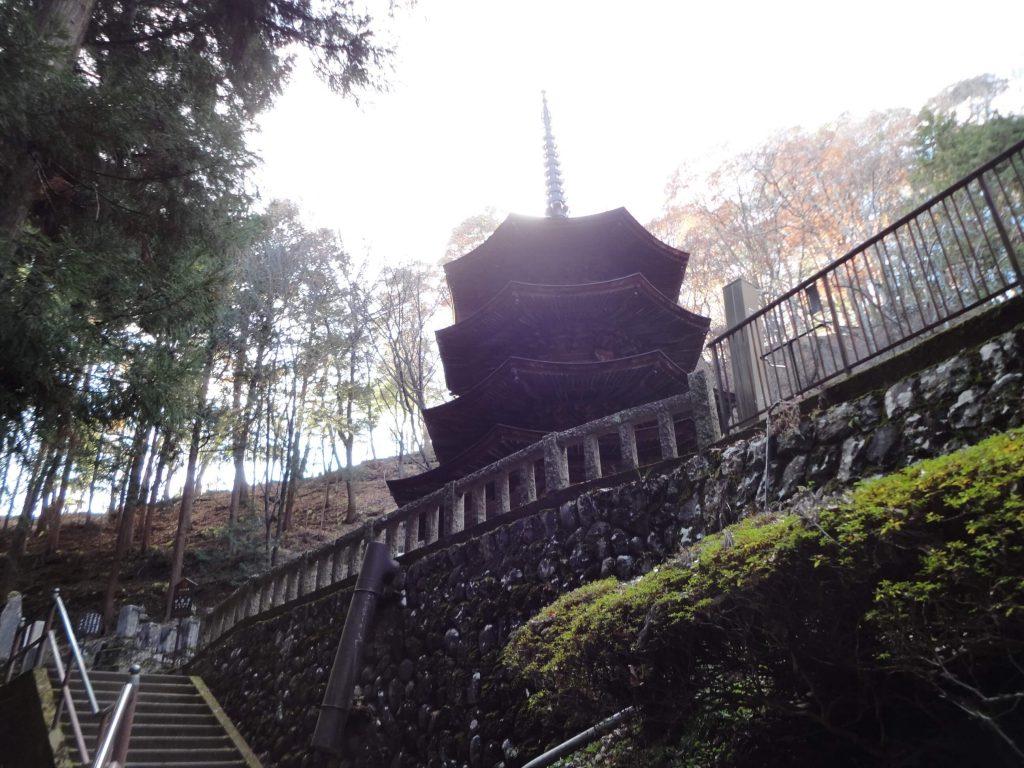 安楽寺坂道2