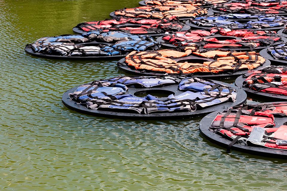 Ai Weiwei's -F.Lotus- Spotlights the Refugee Crisis - Highsnobiety (1)
