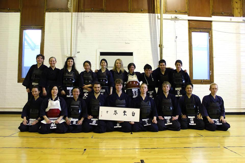 在学中は剣道部に所属していました。