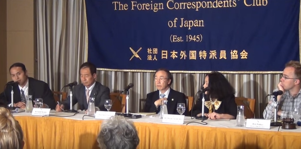 東京外国人記者クラブ同時通訳