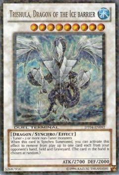 DT04-EN092 Trishula, Dragon of the Ice Barrier  UR