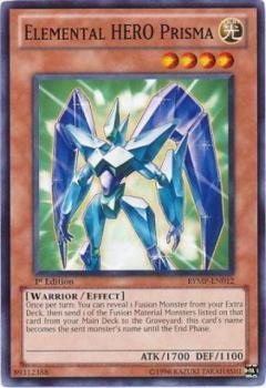RYMP-EN012 Elemental HERO Prisma 1st N