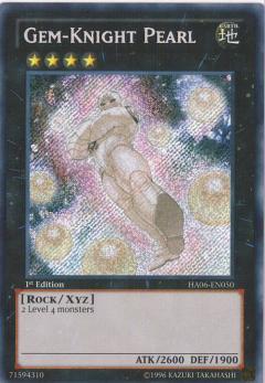 HA06-EN050 Gem-Knight Pearl 1st SCR