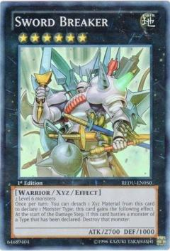 REDU-EN050 Sword Breaker 1st SR