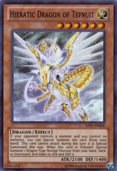 AP01-EN008 Hieratic Dragon of Tefnuit  SR