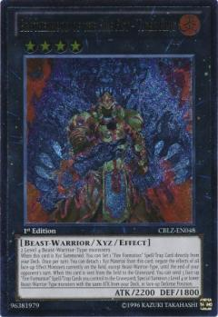 CBLZ-EN048 Brotherhood of the Fire Fist - Tiger King 1st UTR