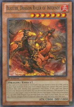 LTGY-EN040 Blaster, Dragon Ruler of Infernos 1st R