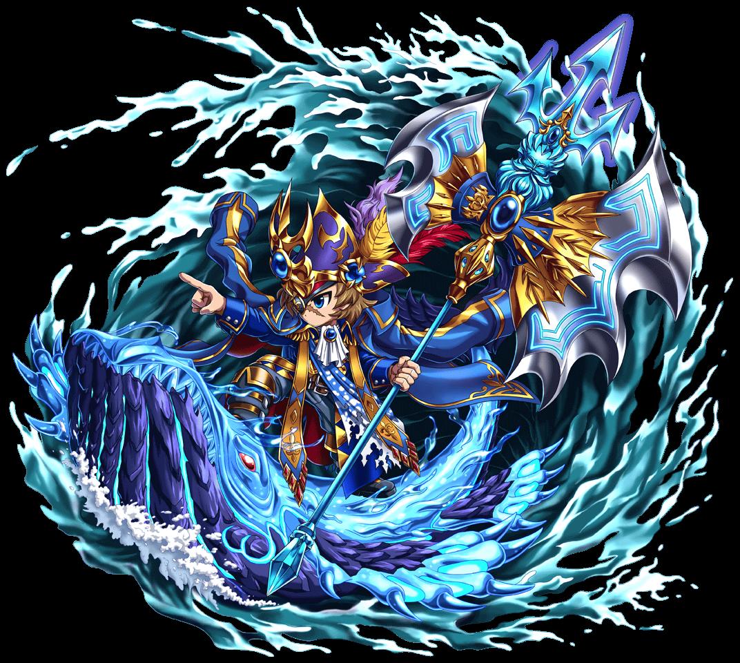 征洋の海皇神メザ