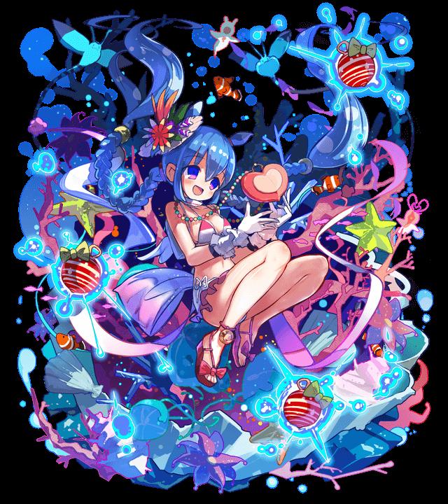 藍に沈む心臓クリオネット
