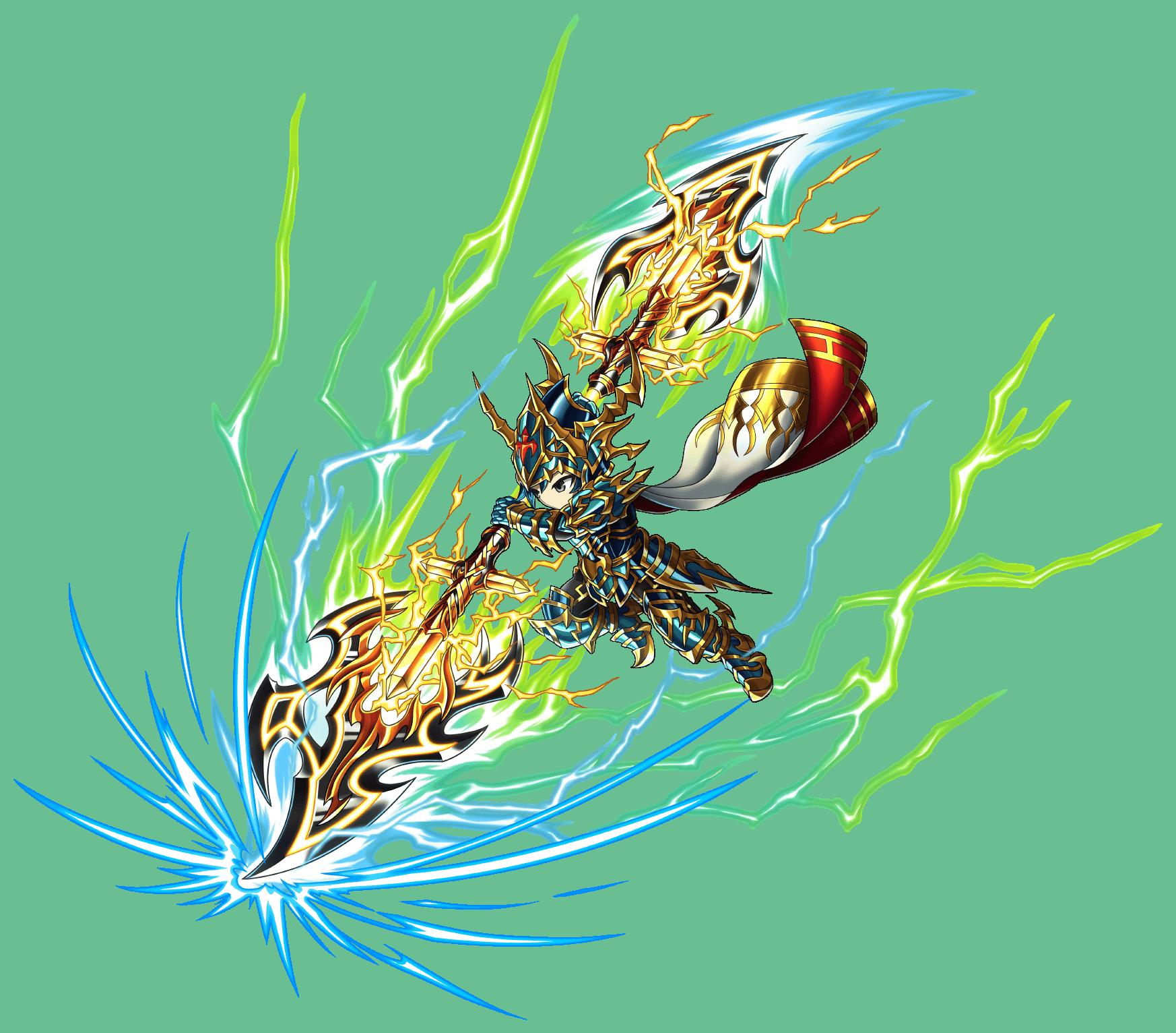 雷凄の神威公サイラス