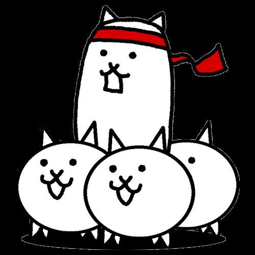 ネコ運動会