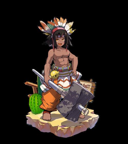 石槌の狩人ファーガ