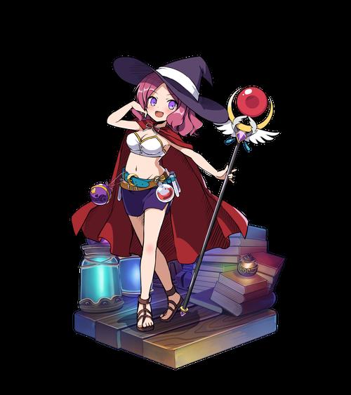 紫紅の解呪師クレール