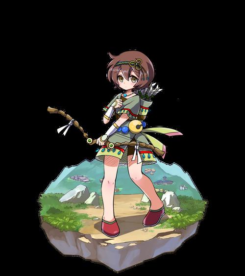 軽身の弓士アルリィ
