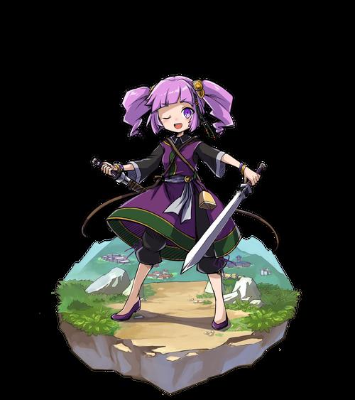 紫闇の舞手ランファ
