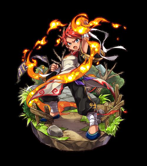 焔色の拳闘士ヨウ