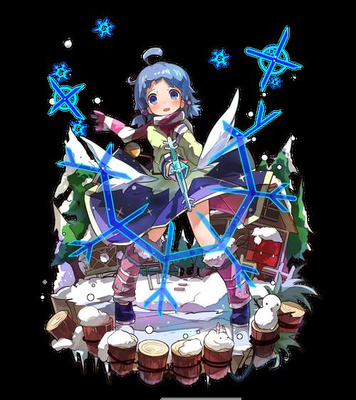 雪結晶の魔女ピッピ