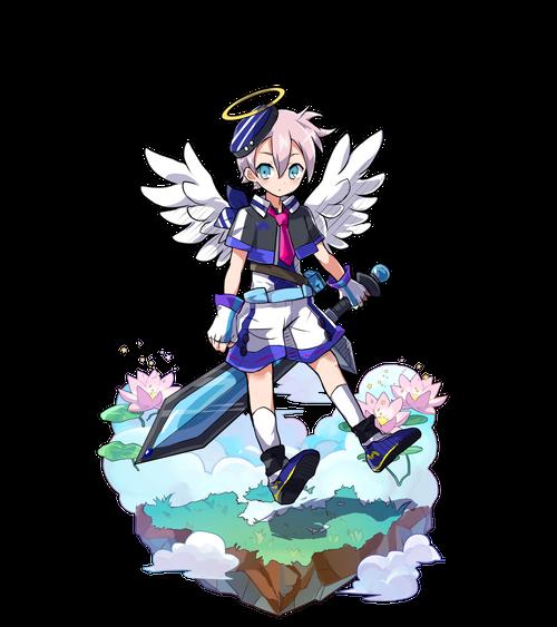 藍白の剣士ティルア