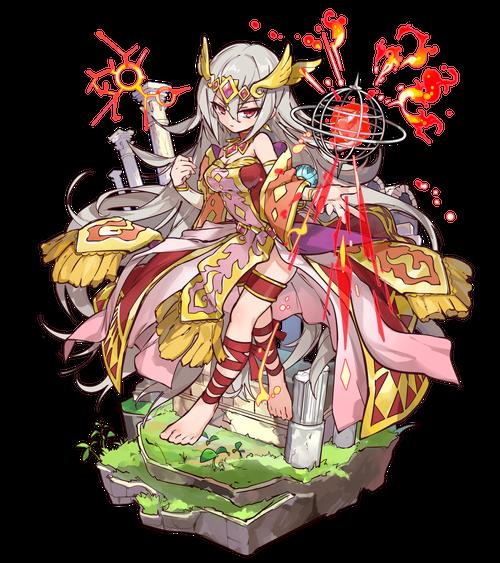 古織の炎姫ウルド